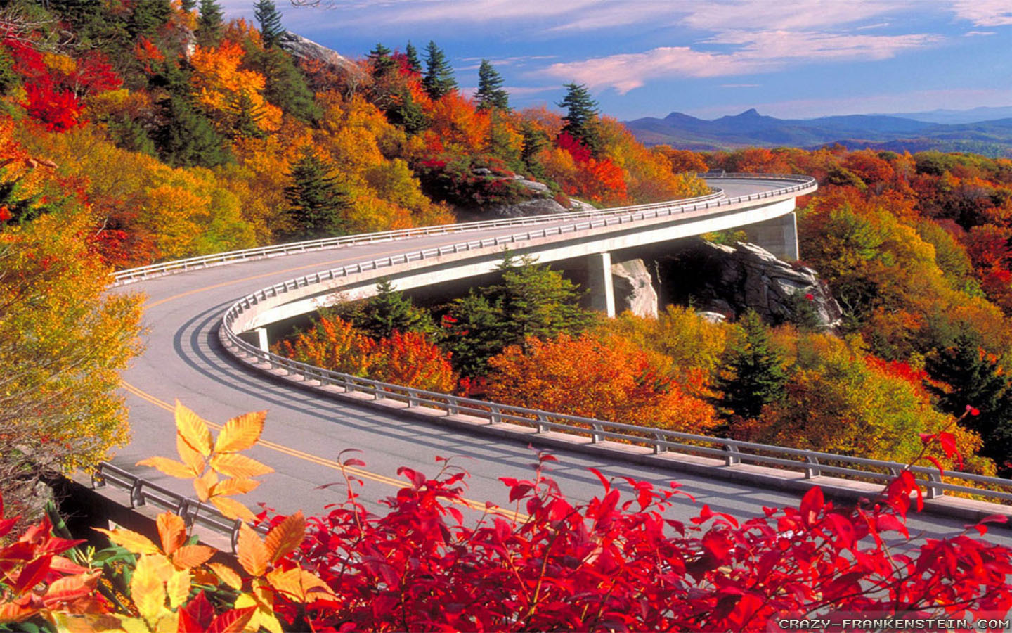 Cool Wallpapers For Fall Autumn Road Wallpapers Crazy Frankenstein
