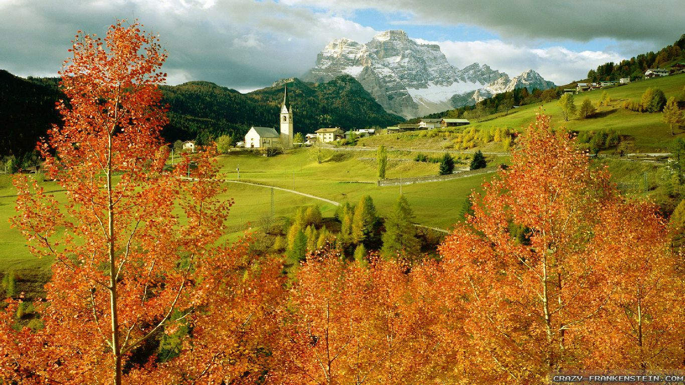 Fall Foliage Wallpaper For Computer Autumn In Italy Wallpapers Seasonal Crazy Frankenstein