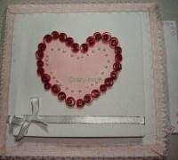 Открытка своими руками к Дню Святого Валентина