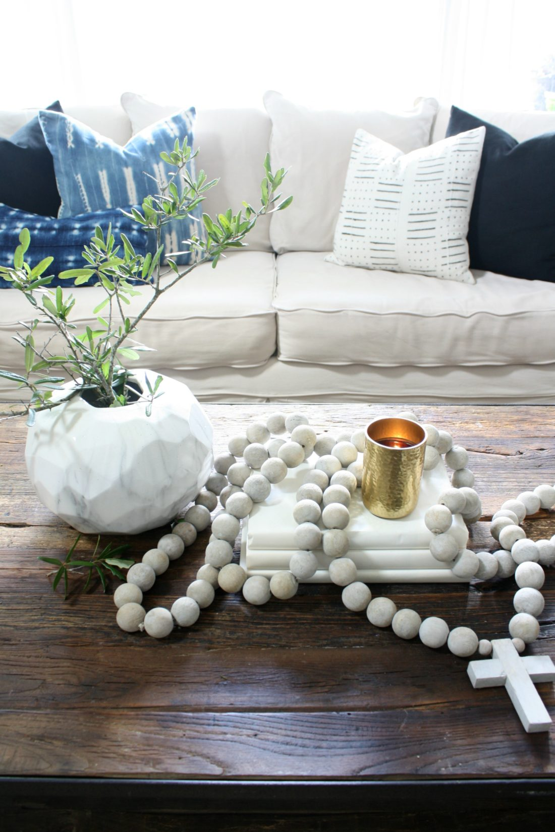 Simple Coffee Table Decor Fall Home Tour Crazy Wonderful