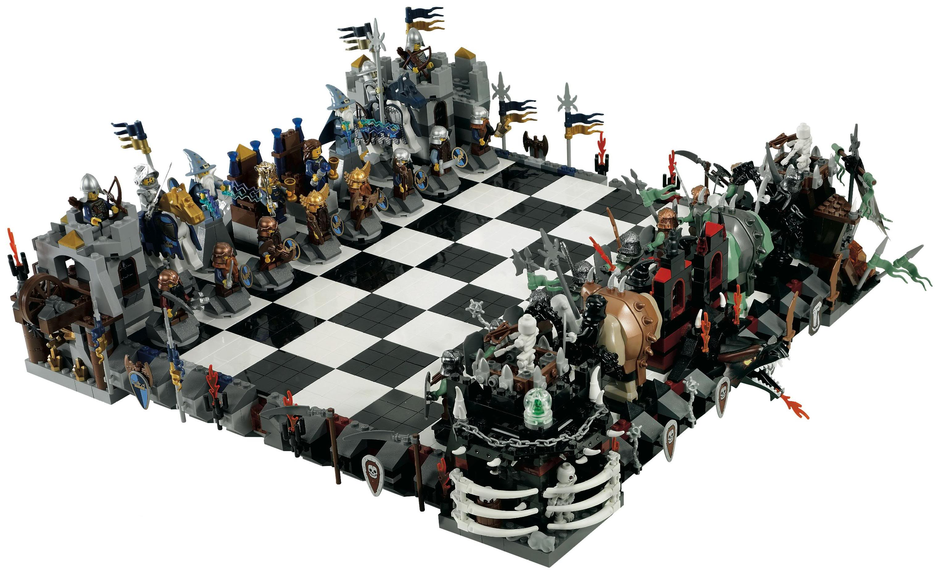 Chest Game Set 10 Cool Chess Sets Inspired From Movies And Games
