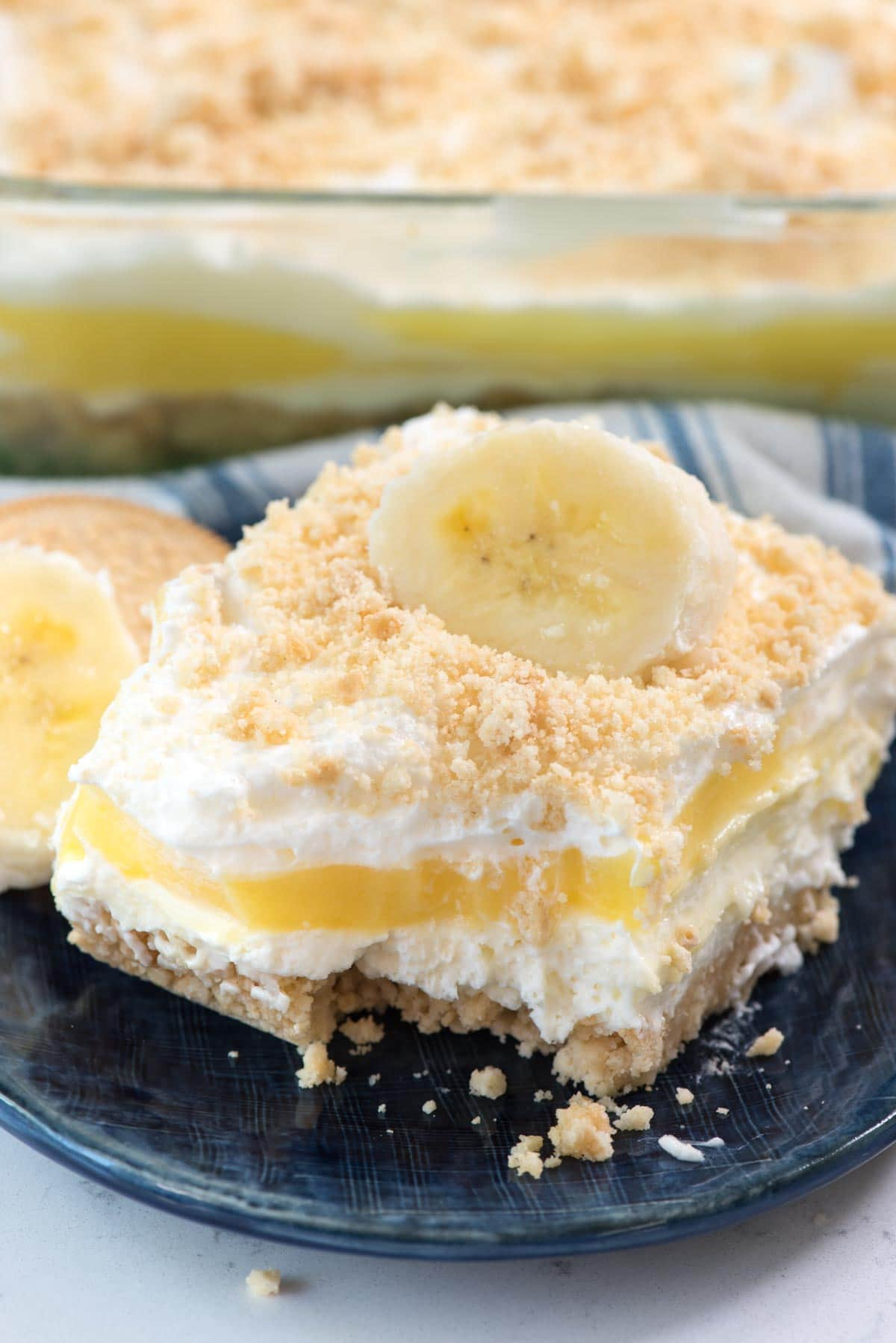 Nagerecht Makkelijk No Bake Banana Pudding Dream Dessert Crazy For Crust