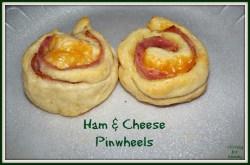Small Of Ham And Cheese Pinwheels
