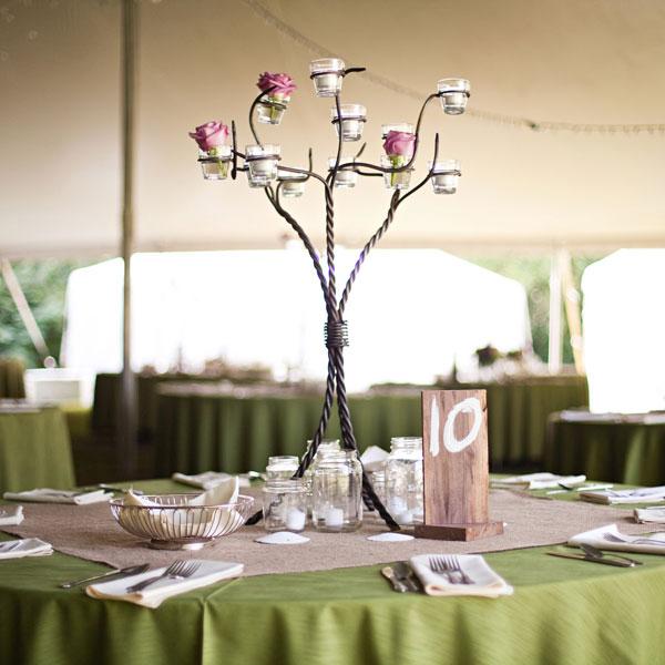 Gorgeous Tall Wedding Centerpieces Part II