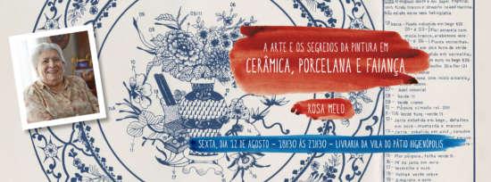 Vernissage acontece naLivraria da Vila do Pátio Higienópolis, nodia 12 de agosto.
