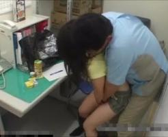 【JKレイプ動画】変態店長に襲われて『痛いっ』と泣きながら犯される男性経験少ないJK