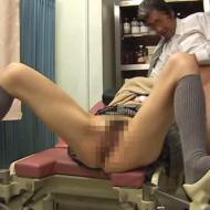 【病院盗撮動画】産婦人科で堕ろす相談をするギャル女子高生・・・無料の代わりに生中出しを交渉する医師ww