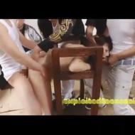 【集団レイプ動画】一人旅の女子大生が田舎DQNに拉致監禁されて集団生姦レイプの被害に・・・