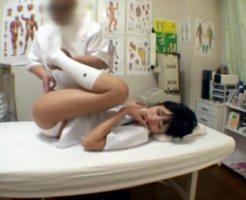 【ロリレイプ動画】毛も生えてない中〇生を施療中に犯す悪徳整体師のレイプ記録・・・