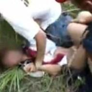 【JK ガチレ●プ】「痛いなやめろよ!」逃げ回る女子校生を捕まえて力づくで・・・年間1200件のレ●プ事件のうち1つがこれかも・