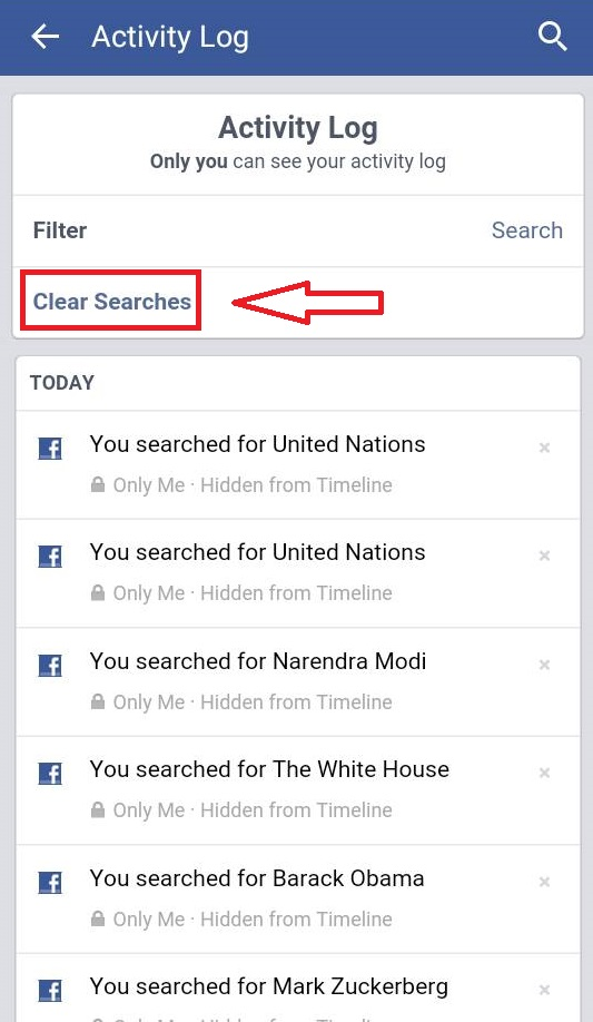 How to Delete your Facebook Search History on PC or Mobile Phone