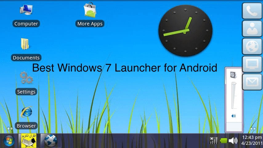 Apk Version Download Windows 7 Launcher For Android Apk Free Download
