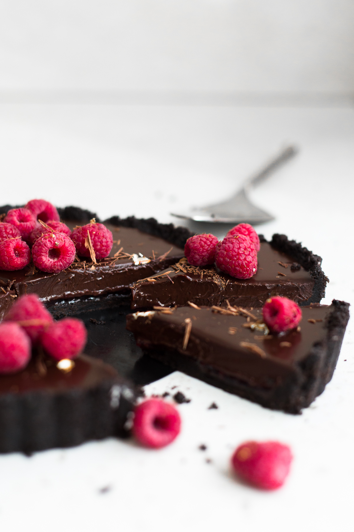Vegane Oreo Torte 6 Ingredient Vegan Chocolate Ganache Tart