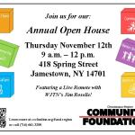 CRCF to Host Open House Nov. 12