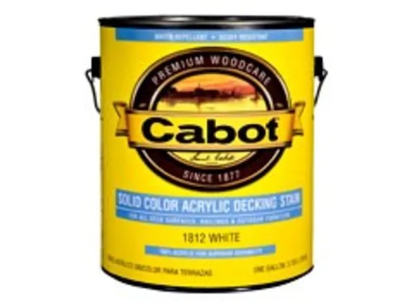 Cabot Solid Color Acrylic Deck Stain - Consumer Reports