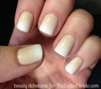 neutral ombre nails wedding wednesday nail trends wedding ...