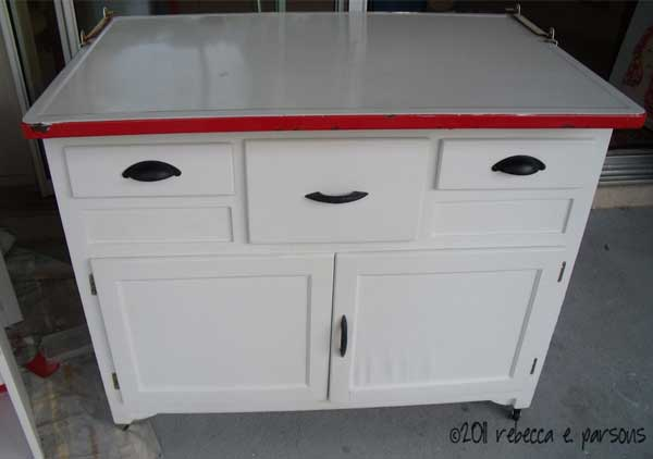 Ghosts Of Furniture Past Update Diy Hoosier Cabinet