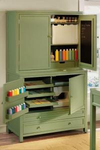 I {HEART} Martha Stewart Craft Storage Hutch