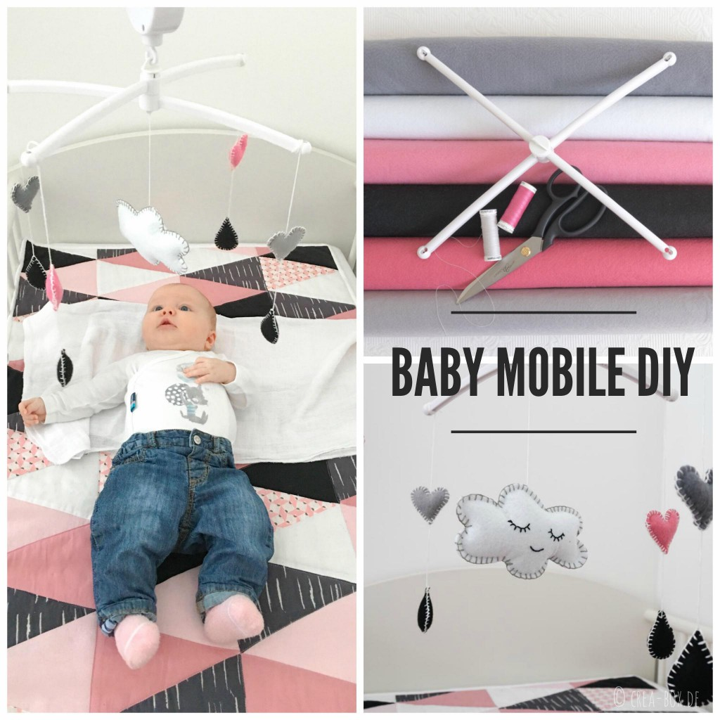 Mobile Baby Filz Baby Mobile Projektergebnis Nr 1 Creative Box