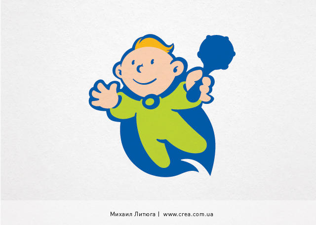 разработка корпоративных персонажей для фруктового молока | Михаил Литюга 2013