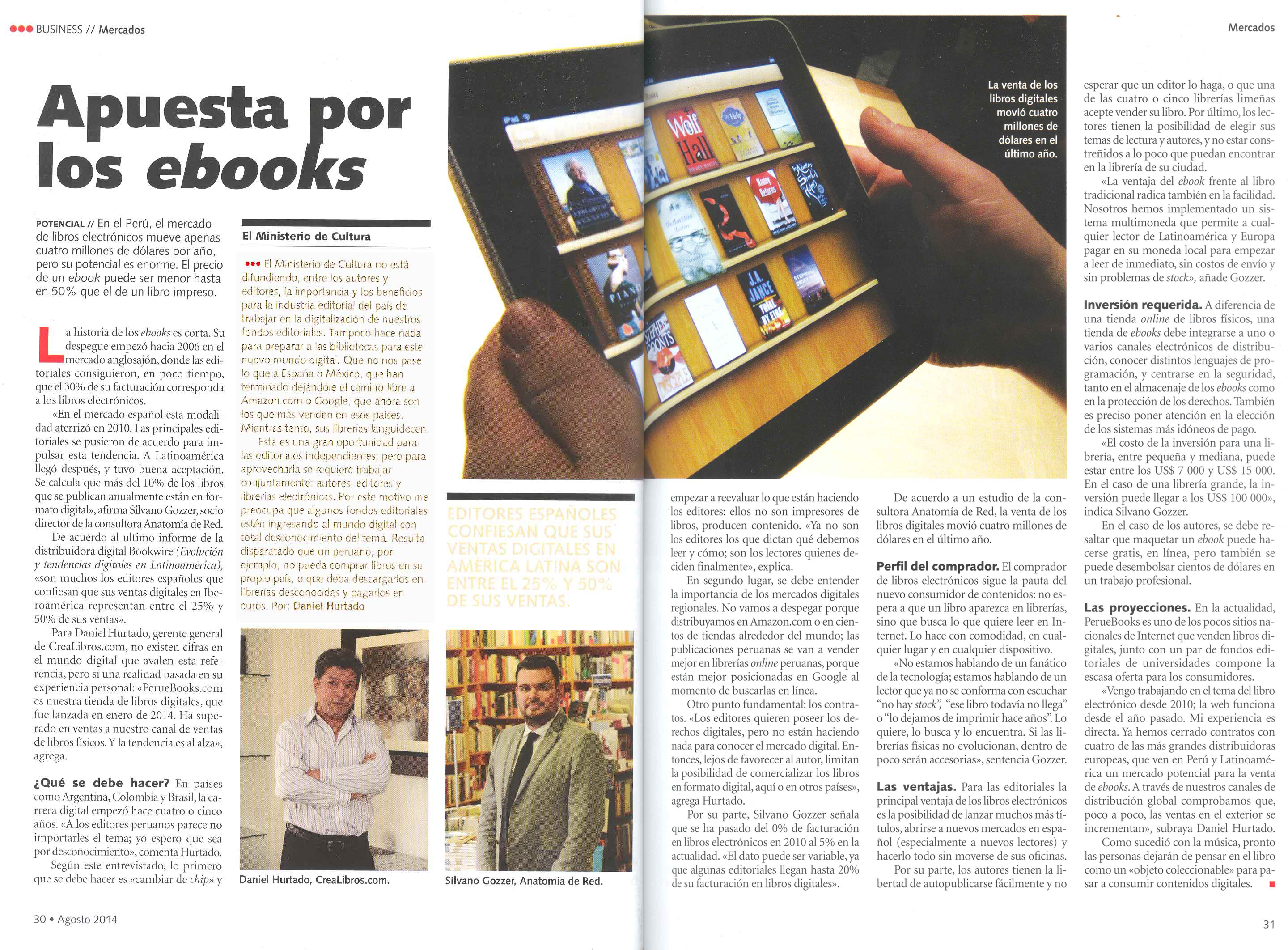 Venta De Libros Digitales Revista Business