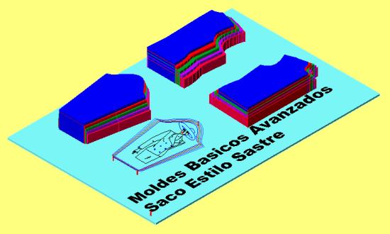 Moldes Base Avanzados de Saco Sastre