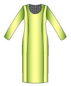 Moldes de vestido por talla
