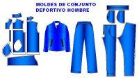 Patrones de ropa deportivos de hombre