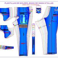 Pantalon Jeans Dama