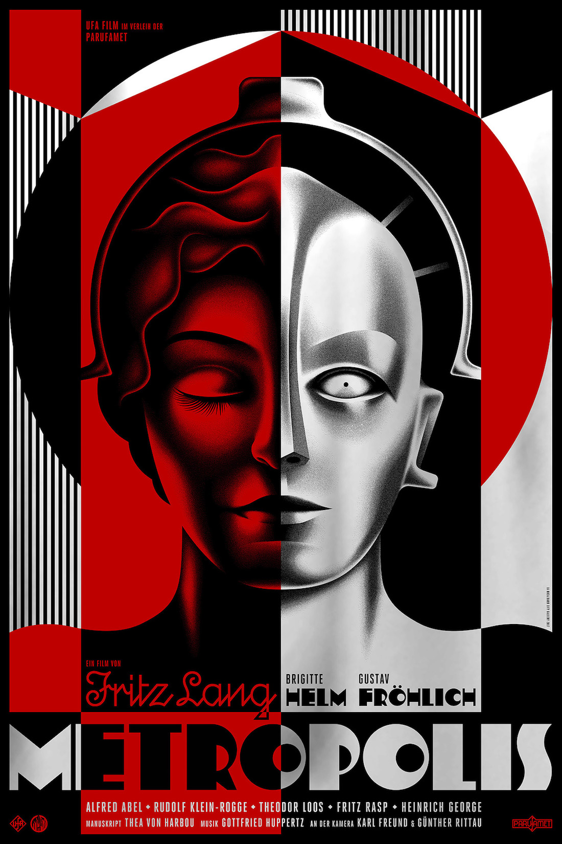 Poster Red Metropolis Film Posters Reviving A 90 Year Old Icon Create