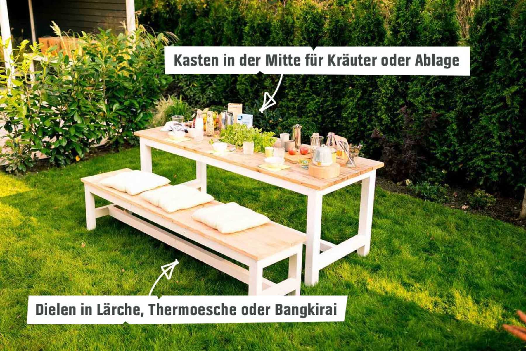 Gartentisch Richard Create By Obi