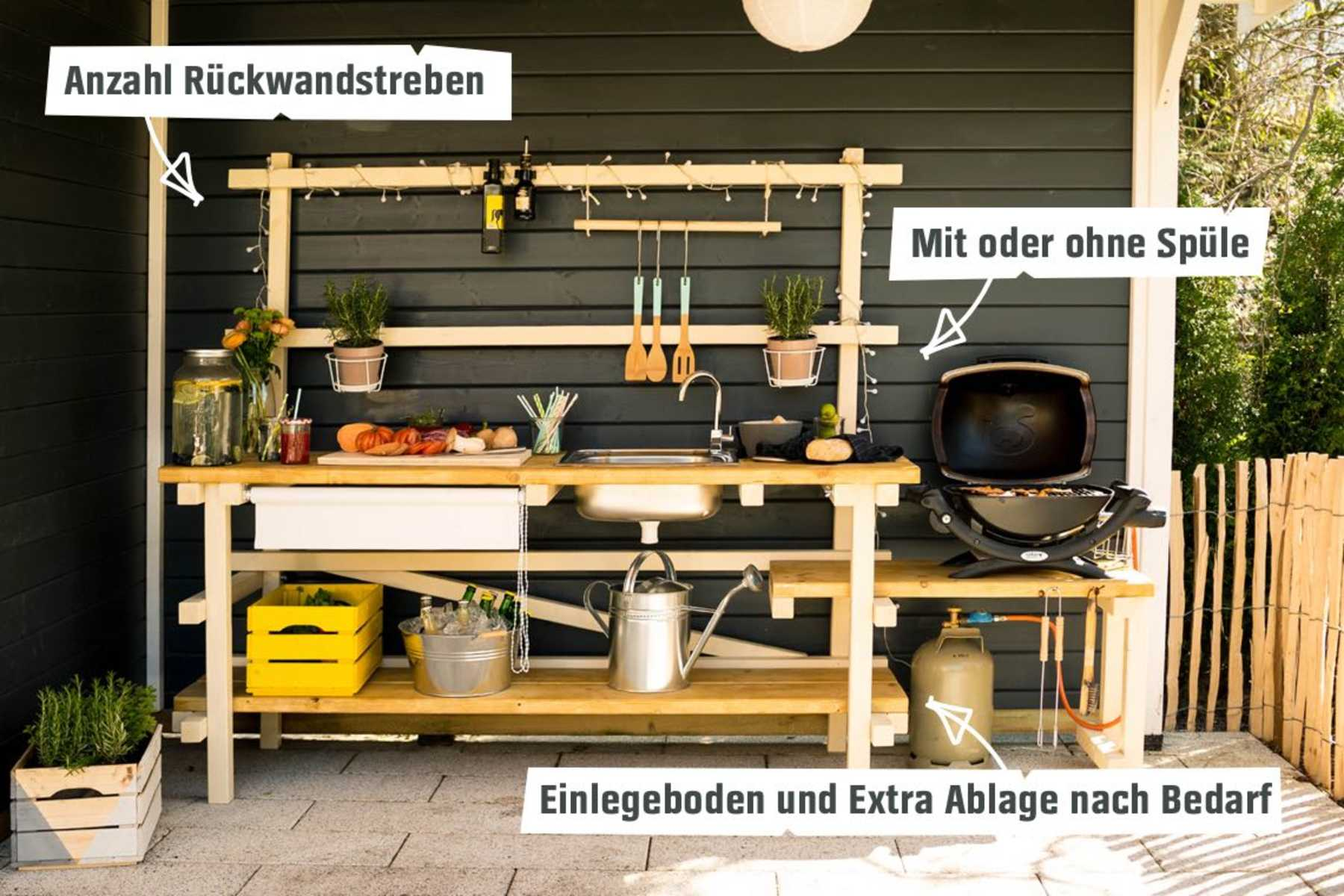 Burnout Outdoor Küche Outdoor Grill Kuche Inspiration | Milt's Dekor