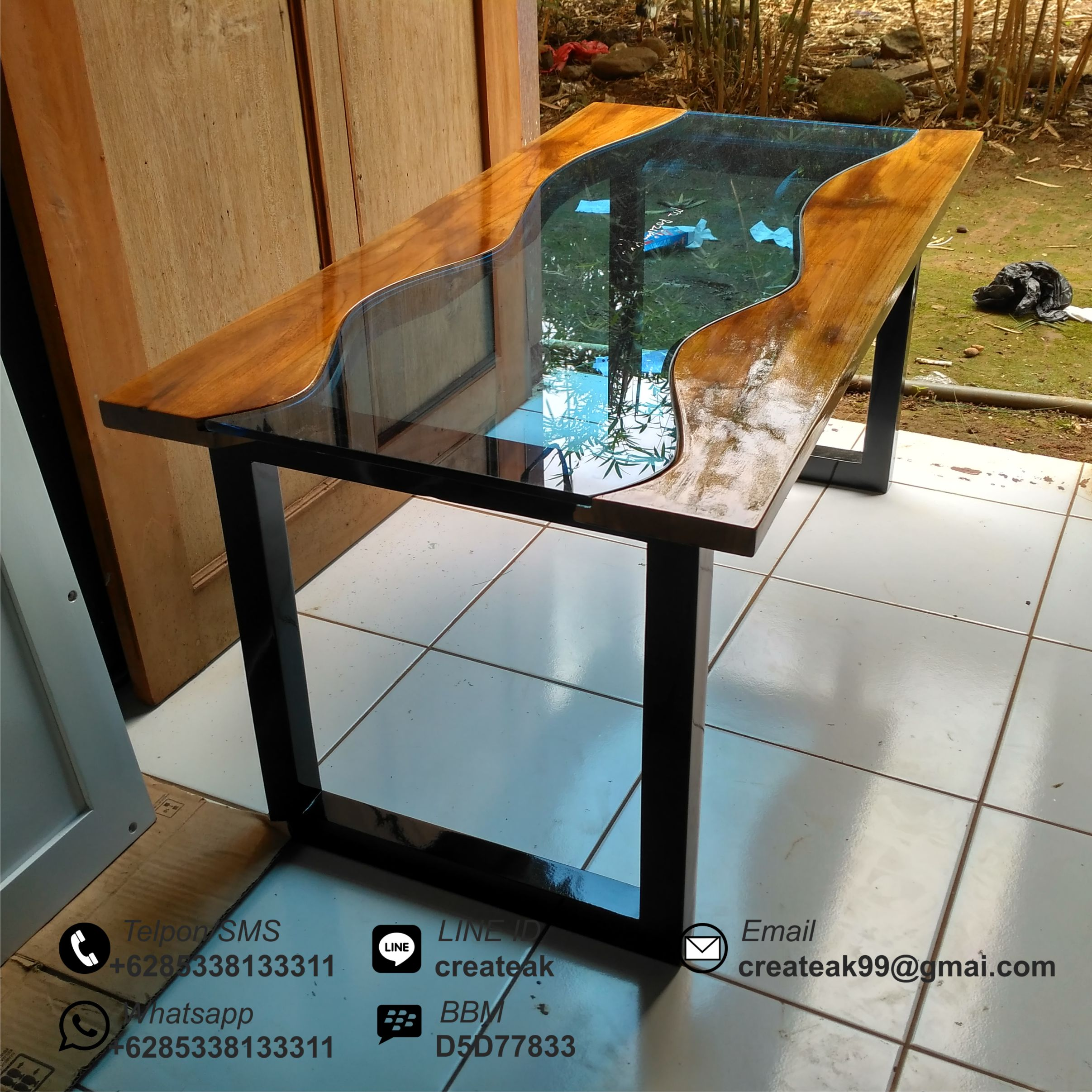 Harga Meja Kursi Tamu Minimalis Meja Kopi Minimalis Antik Createak Furniture Createak Furniture