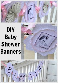 Baby Girl Shower Decorations DIY Style - Create and Babble