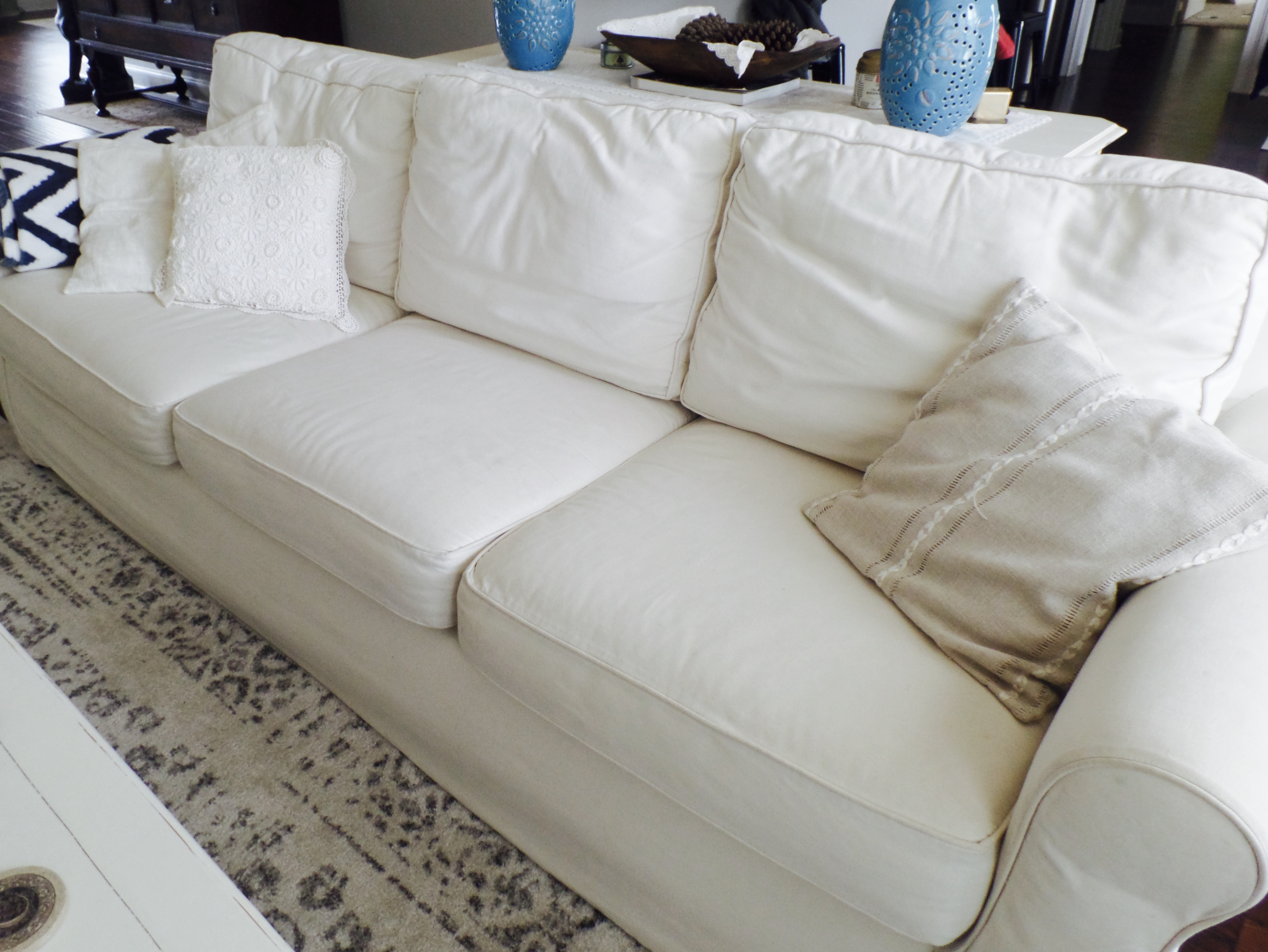 Sofa Outlet Paisley Couch Comparison Pottery Barn Vs Ikea