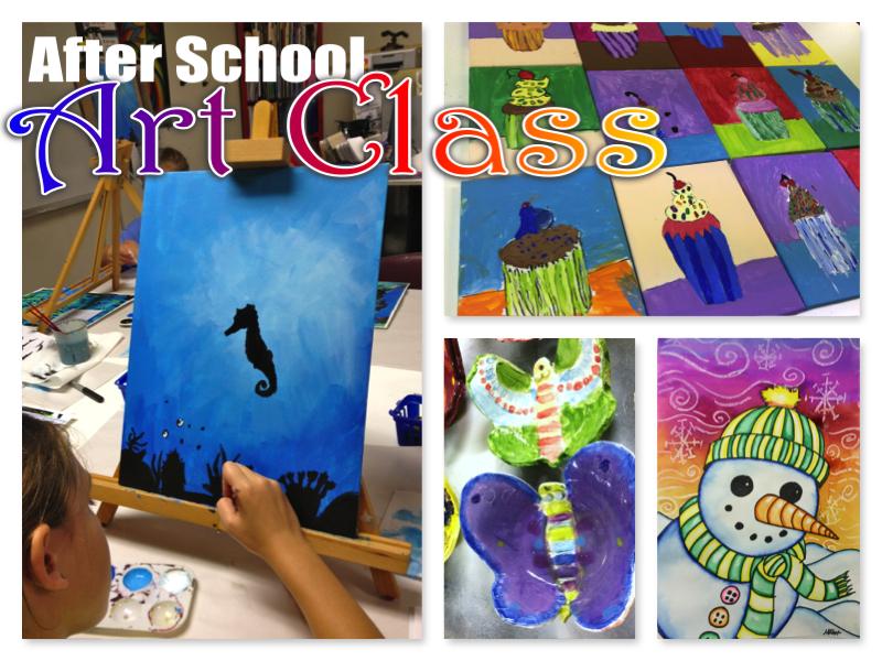 After School Art - Art Club Projects 2014-2015