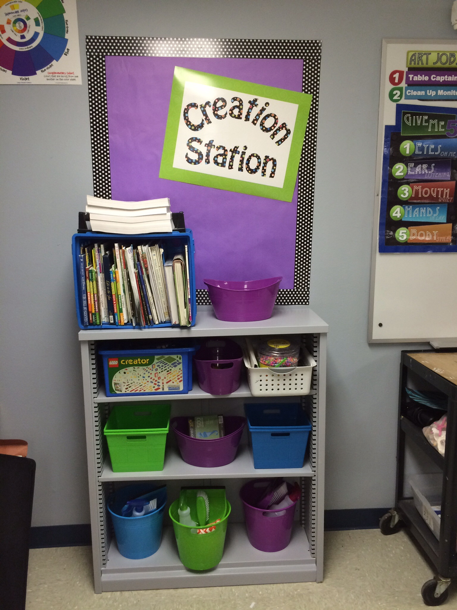 Classroom Furniture Layout ~ Tips for setting up a new art classroom