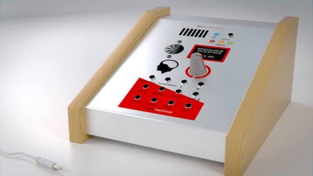 Digital rendering of the desktop unit.