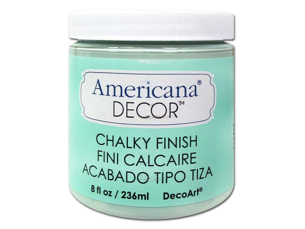 Americana Decor Chalky Finish Decoart Americana Decor Chalky Finish 8 Oz Refreshing 1