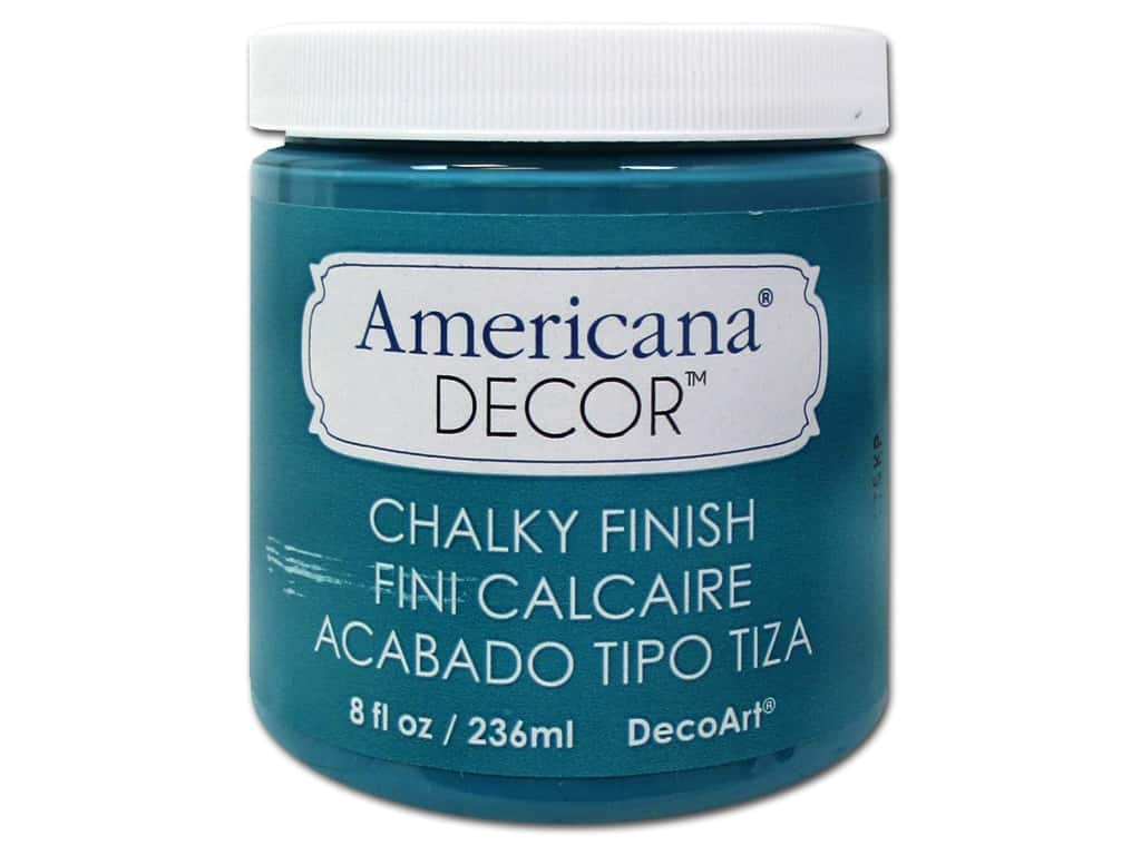 Americana Decor Chalky Finish Decoart Americana Decor Chalky Finish 8 Oz Treasure 1