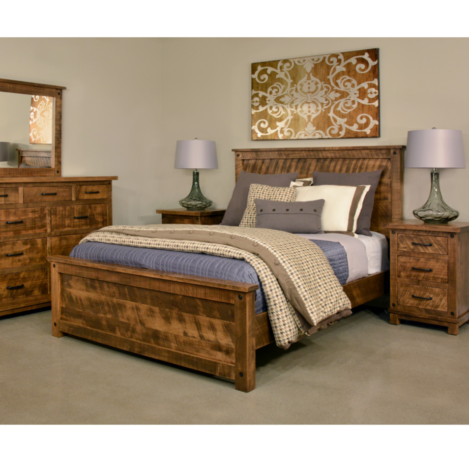 Canada Bed Adirondack Bed Home Envy Furnishings Solid Wood Furniture Store