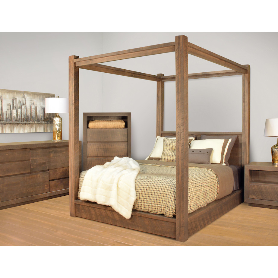 Canada Bed Greystone Bed Home Envy Furnishings Solid Wood Furniture Store