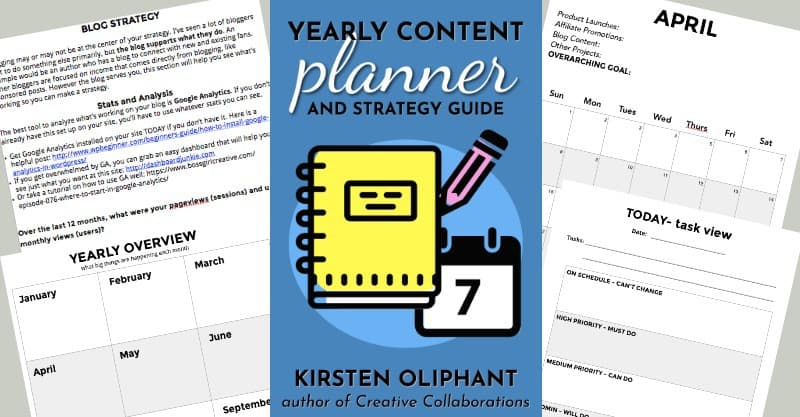 The Free Printable Planner for 2018 and Weekly Calendar