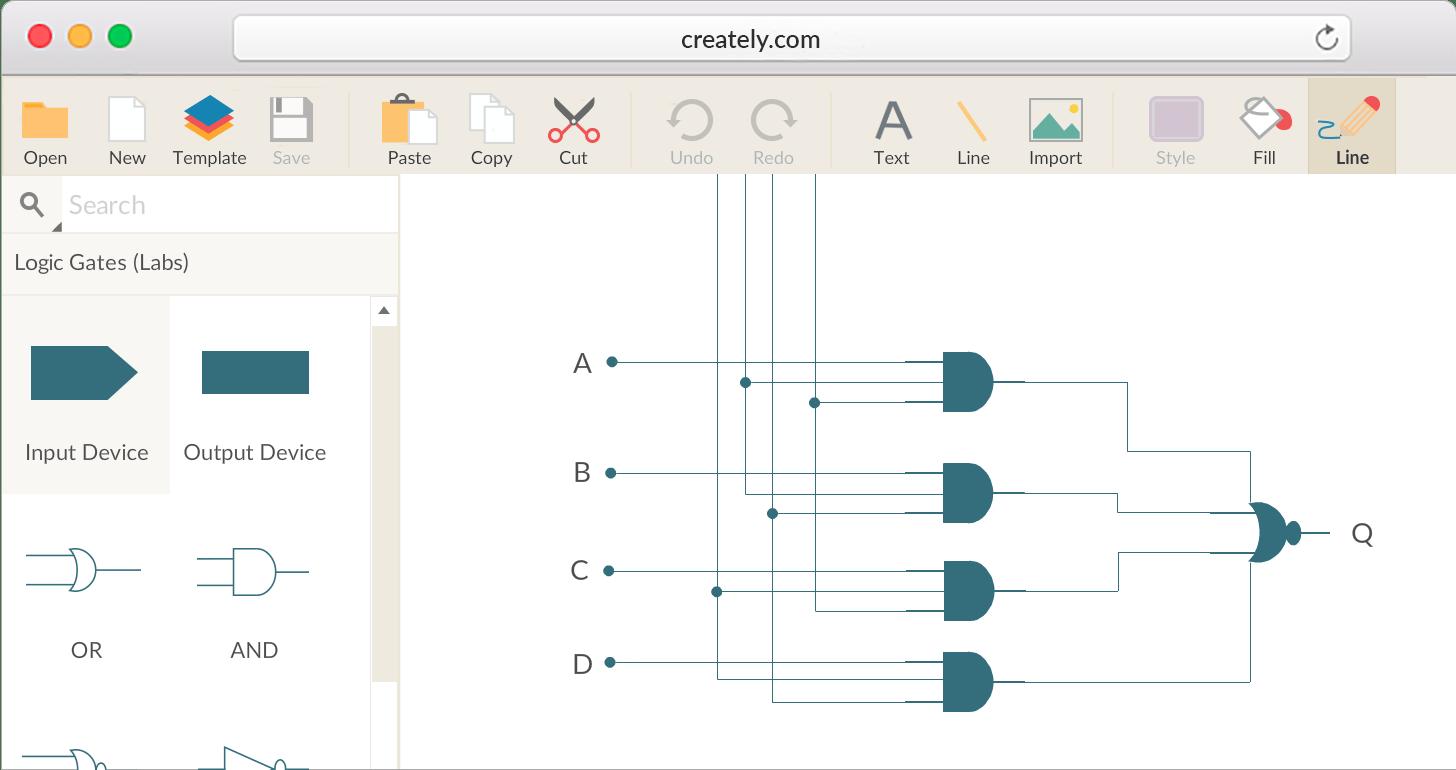 logic diagram drawer