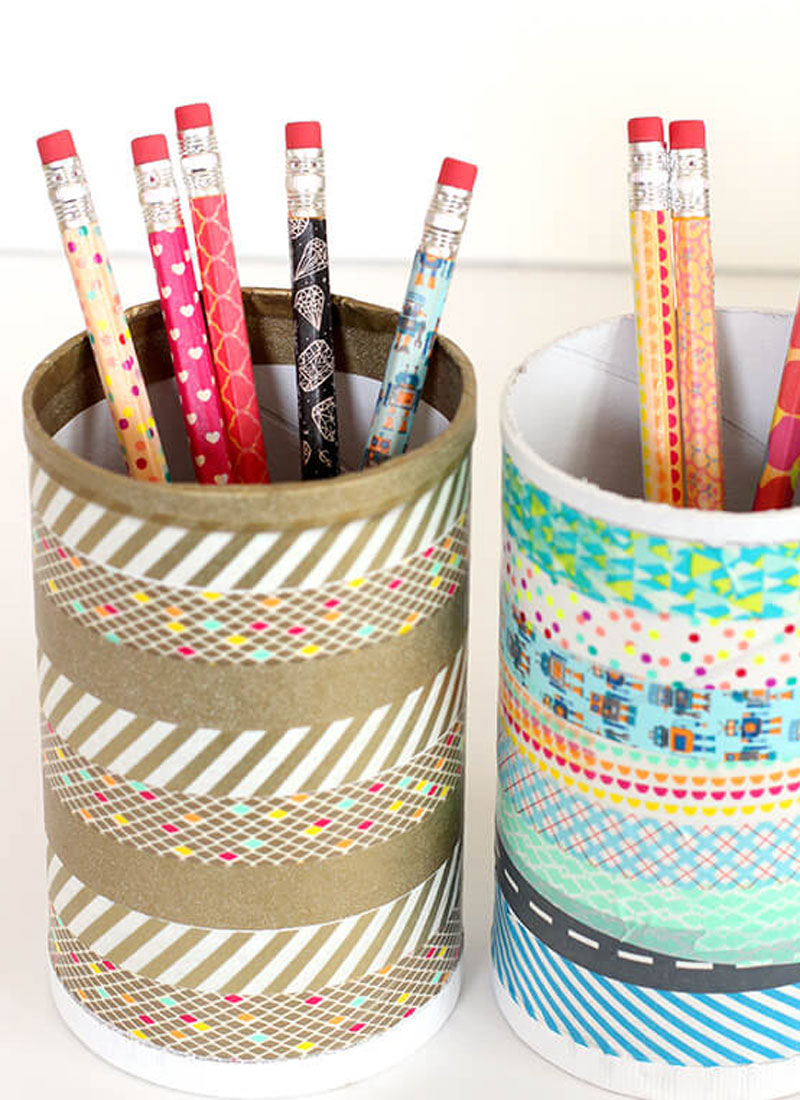 Homemade Pencil Holders Best Diy Pencil Cup Ideas Create Play Travel