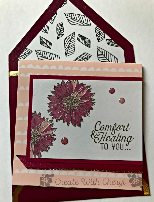Touches of Texture Get Well Cards - Create With Cheryl - Cheryl Hamilton