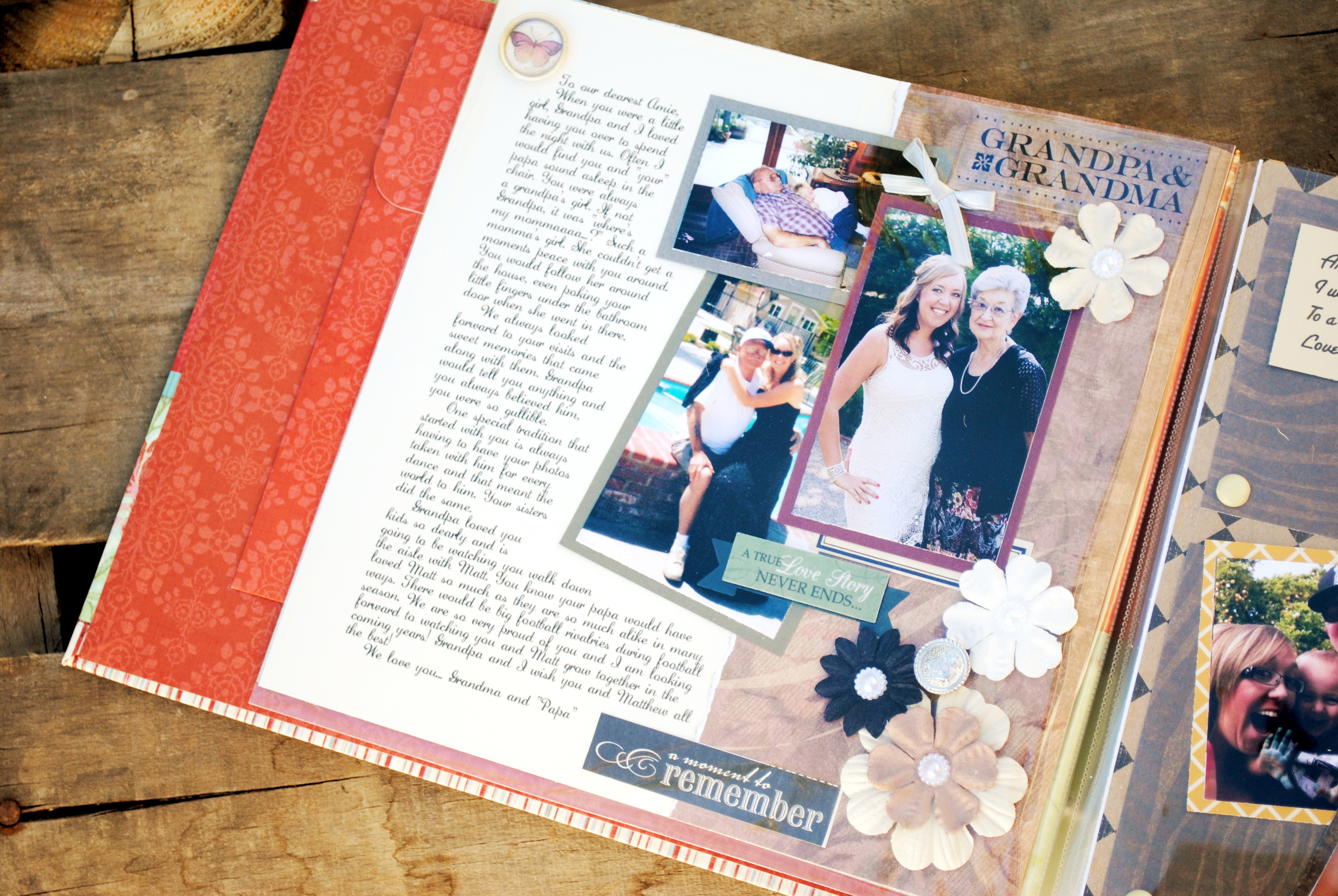 Gift for the bride letter scrapbook_0999 gift for the bride letter scrapbook_0001