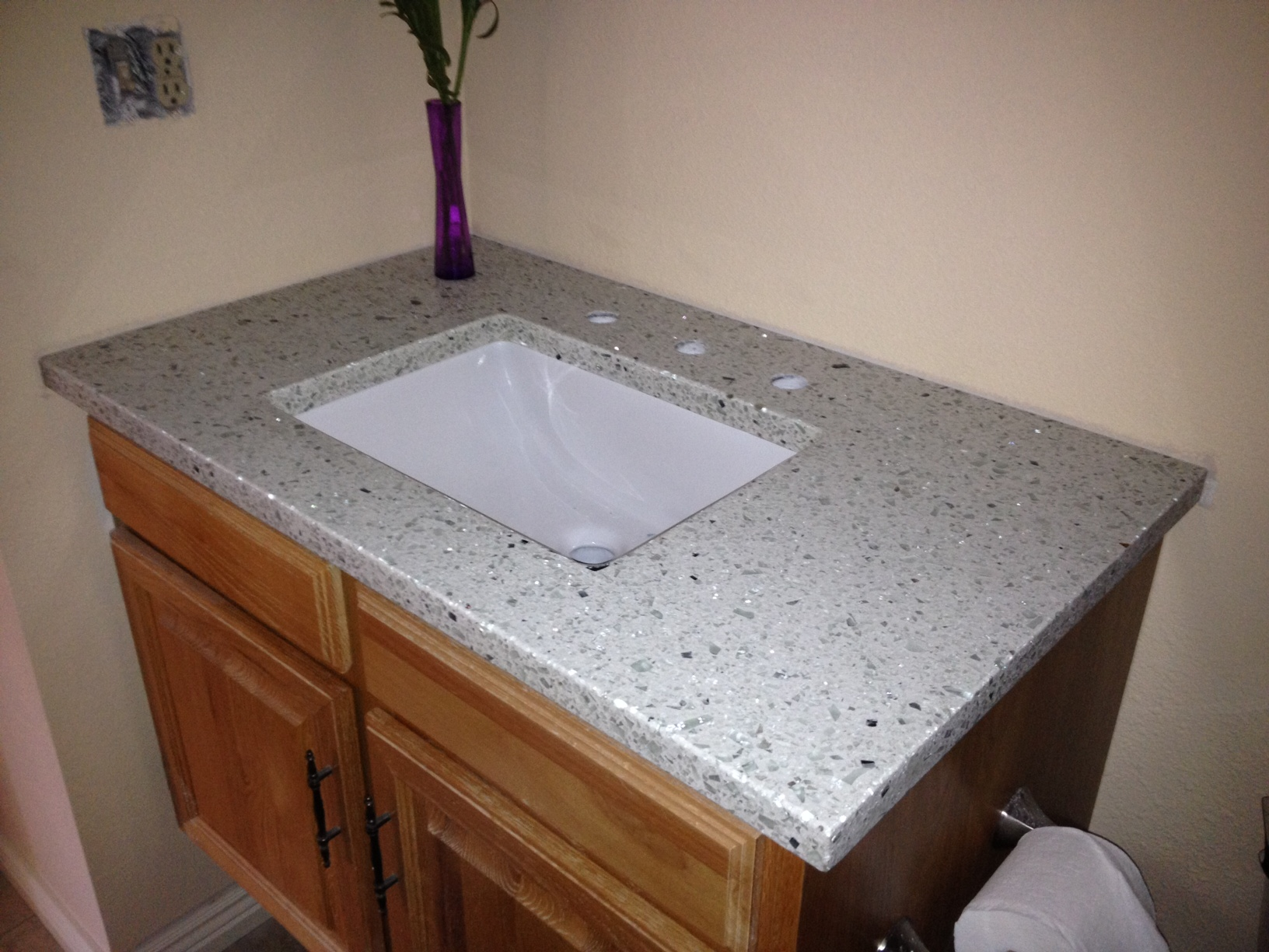 Can You Bleach Granite Countertops Bathroom Vetrazzo Countertop Installation