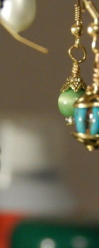 Christmas Ball Earrings | creationsof