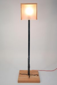 "Floor Lamp ""Warm Home"" - Creative iron"